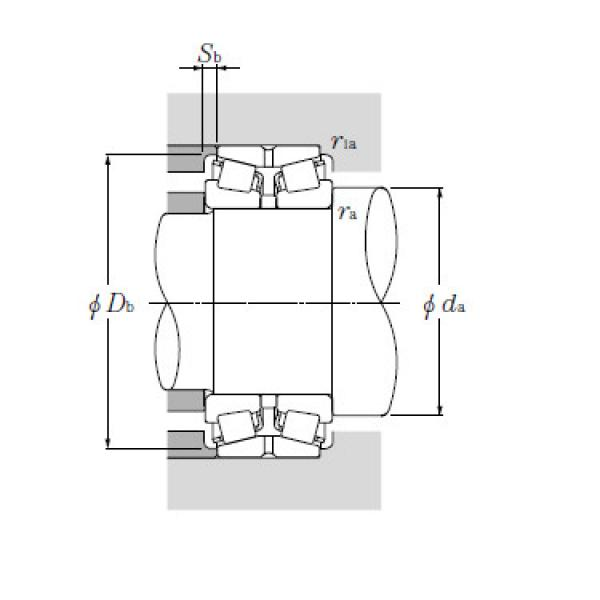 Bearing T-LM742749/LM742710D+A #1 image
