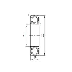 Rodamiento 6-3101 CYSD