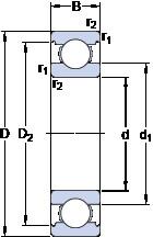 Rodamiento 6320 M/C3VL0241 SKF