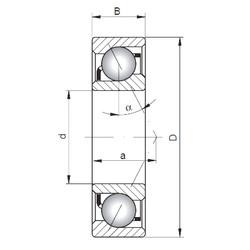Rodamiento 7021 C ISO