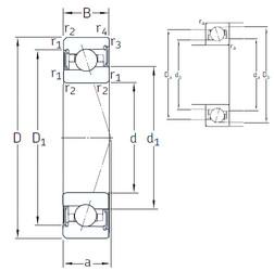 Rodamiento VEX 80 /S/NS 7CE3 SNFA