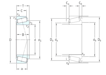 Rodamiento T7FC065/QCL7C SKF