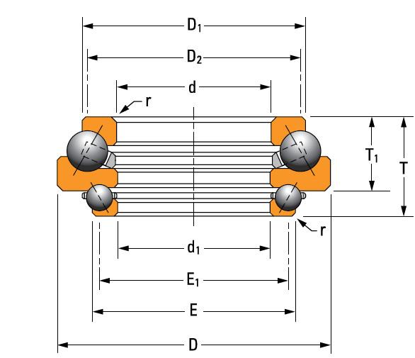 Bearing N-3488-A