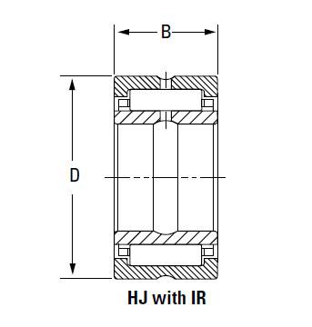 Bearing IR-12014048 HJ-14017048