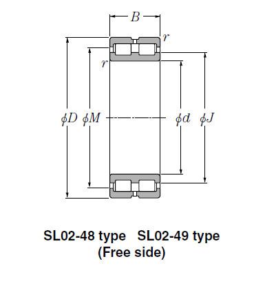 Bearing SL02-4948