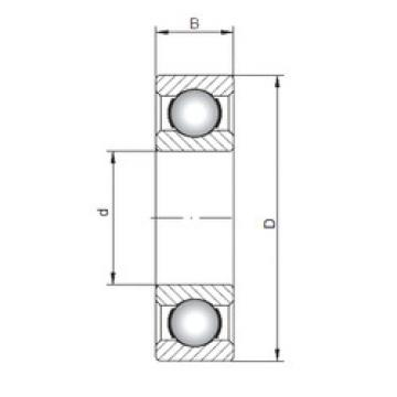 Rodamiento 61844 ISO