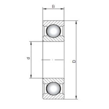 Rodamiento 6316 ISO