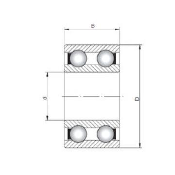 Rodamiento 4307 ISO