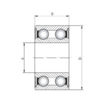 Rodamiento 4208-2RS ISO