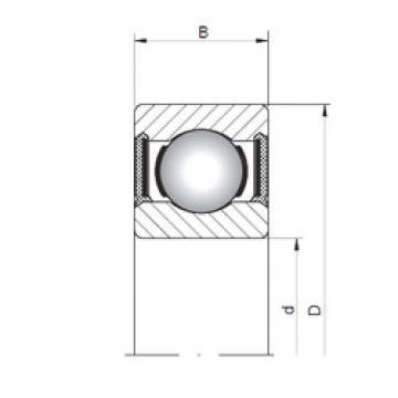 Rodamiento 60/1,5-2RS ISO
