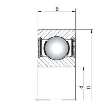 Rodamiento 60/2,5-2RS ISO