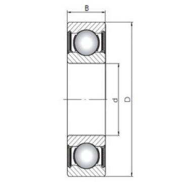 Rodamiento 60/22-2RS ISO