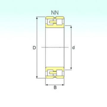 Rodamiento NN 3026 TN9/SP ISB