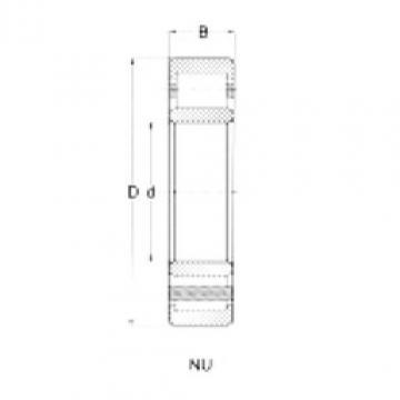 Rodamiento NU308 CRAFT