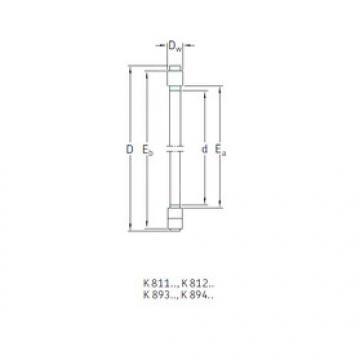 Rodamiento K89414TN SKF