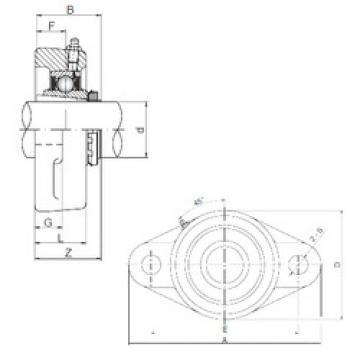 Rodamiento UKFL206 ISO