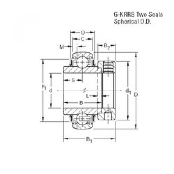 Rodamiento GE40KRRB Timken #1 image