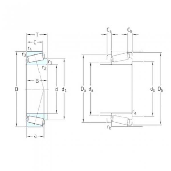 Rodamiento T7FC065/QCL7C SKF #1 image