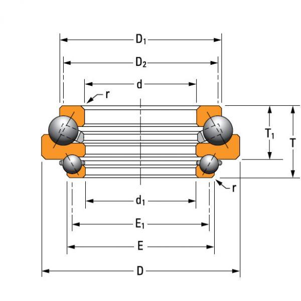 Bearing N-3492-A #1 image