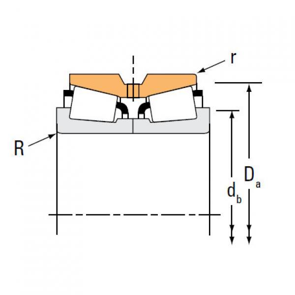 Bearing M231647 M231616XD #2 image